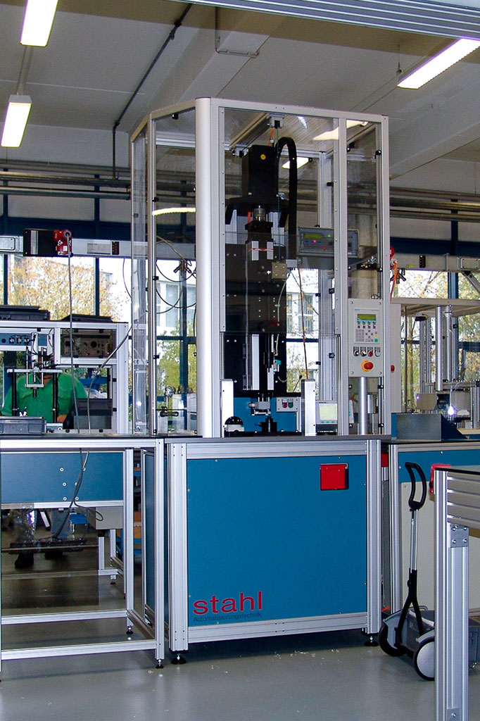 Switching Magnet Production Line Stahl